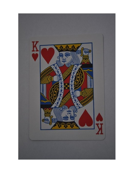 Baraja bicycle 52 cartas iguales dorso azul rey de corazones US Playing Card Co. Bicycle Poker 52 iguales Azul