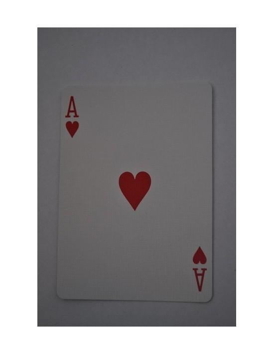 Baraja bicycle 52 cartas iguales dorso rojo as de corazones US Playing Card Co. Bicycle Poker 52 iguales Rojo