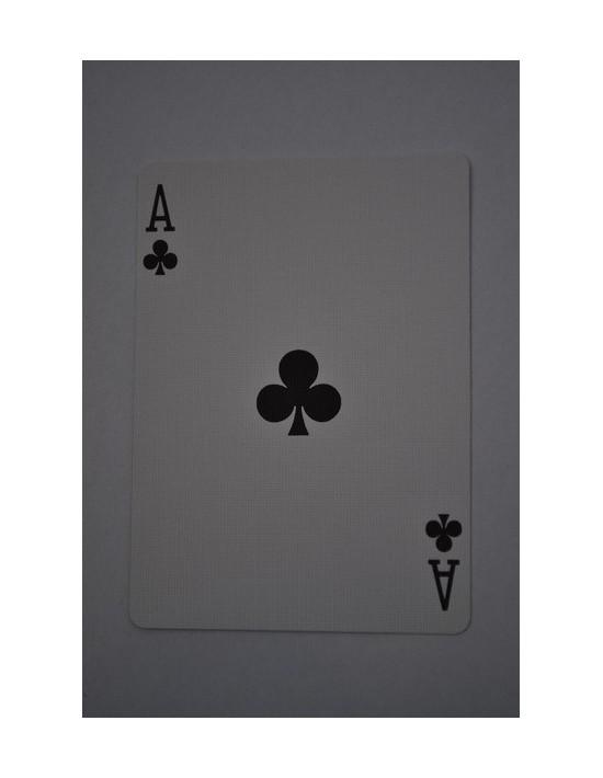 Baraja bicycle 52 cartas iguales dorso rojo as de tréboles US Playing Card Co. Bicycle Poker 52 iguales Rojo