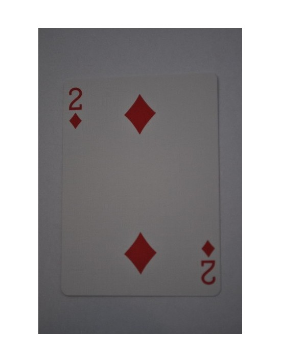 Baraja bicycle 52 cartas iguales dorso rojo dos de diamantes US Playing Card Co. Bicycle Poker 52 iguales Rojo