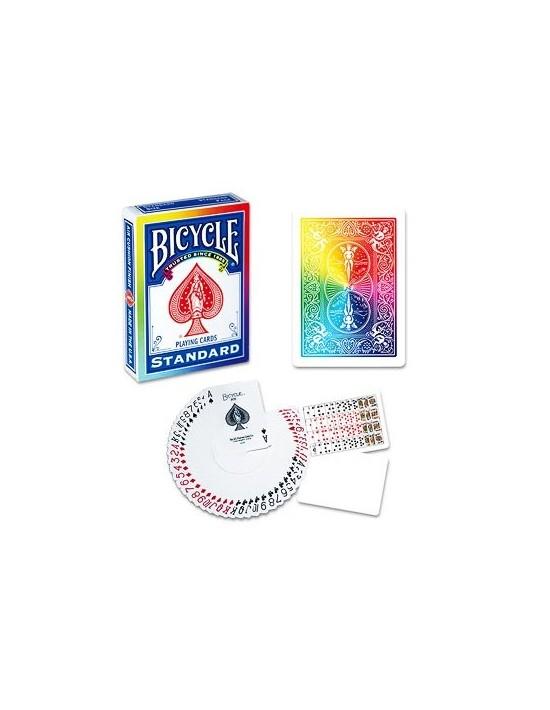 Baraja bicycle rainbow US Playing Card Co. Póquer