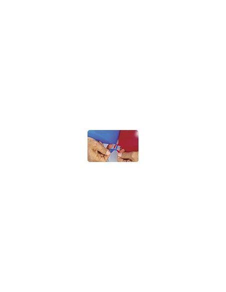 Bolsa de 25 globos sempertex r12 de 30 cm link-o-loon color satín plata (481) Sempertex Globos Link o Loon