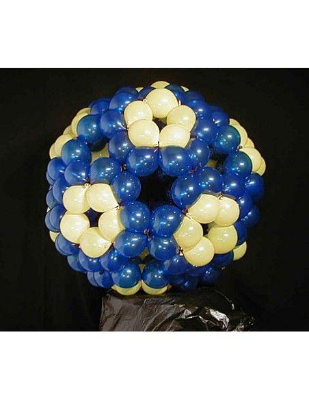 Bolsa de 50 globos sempertex r6 de 15 cm link-o-loon color metal dorado (570) Sempertex Globos Link o Loon