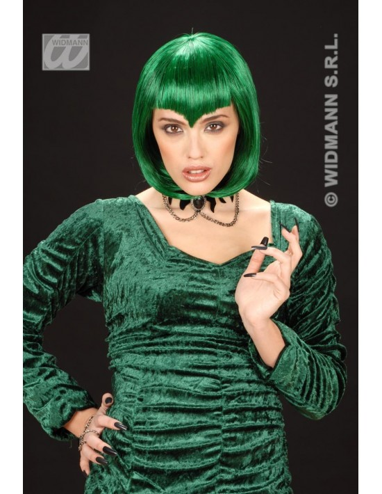 Peluca gótica color verde Widmann Pelucas y Calvas