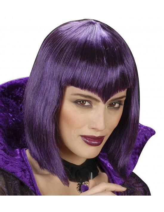 Peluca gótica color violeta Widmann Pelucas y Calvas