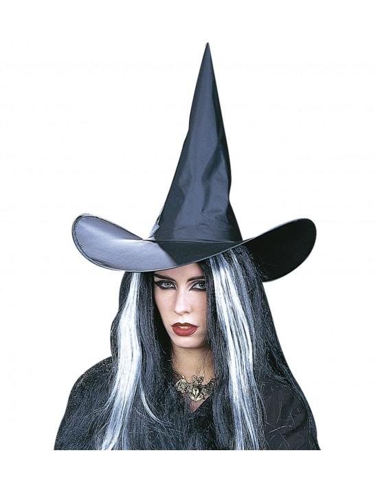 Sombrero bruja negro Widmann Complementos