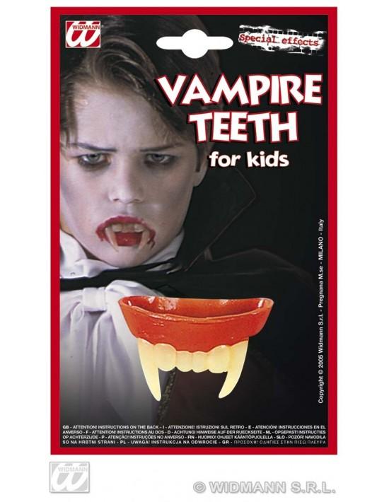 Dentadura vampiro niño Widmann Dentaduras