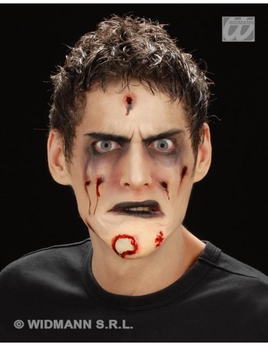 Barbilla de zombi Widmann Prótesis
