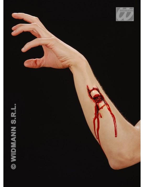 Herida fractura de hueso Widmann Látex y carne artificial