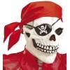 Máscara calavera pirata con bandana y arete Widmann Máscaras y Caretas