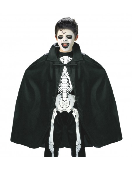 Capa vampiro negra niño Widmann Capas