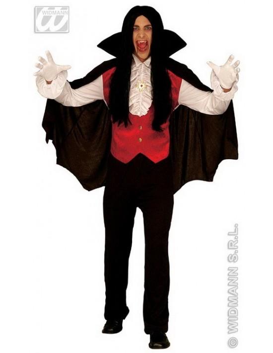Disfraz conde drácula, adulto talla única Widmann Para Hombre