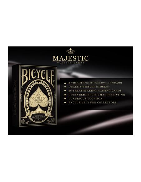 Baraja bicycle majestic edición limitada US Playing Card Co. Póquer