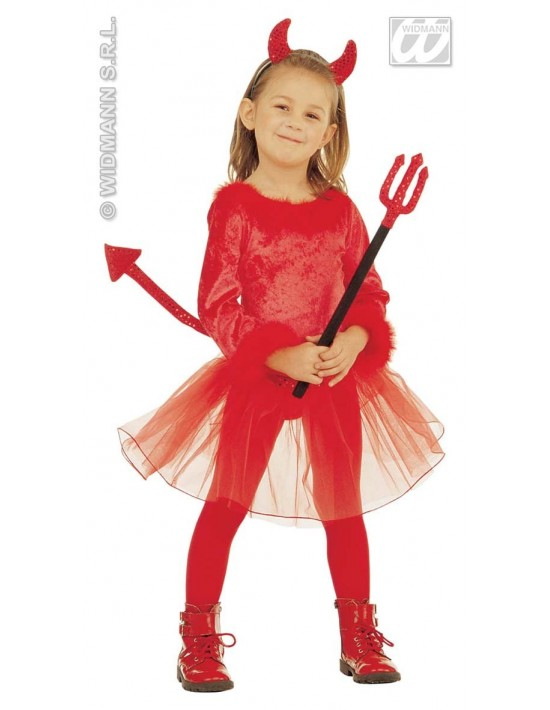 Disfraz diablesa talla 3-4 años Widmann Niña