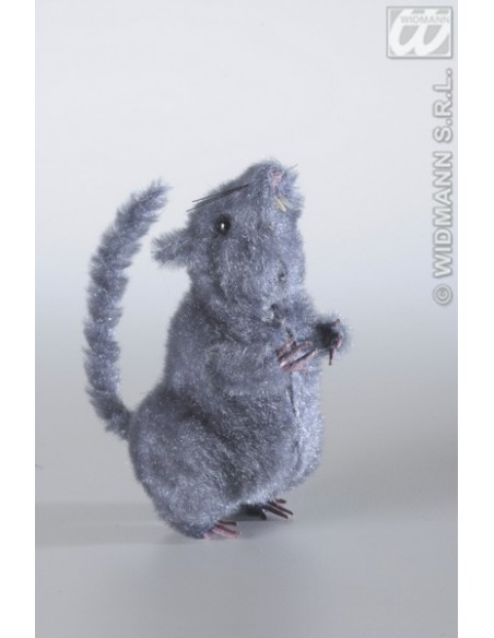 Rata peluda 14 cm modelos surtidos Widmann Bichos