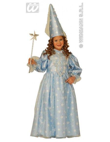Disfraz de hada madrina azul talla 4-5 años Widmann Niña