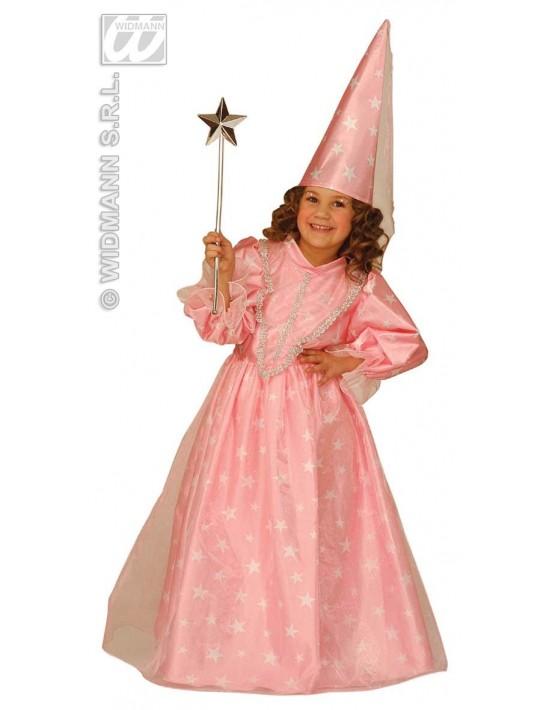 Disfraz de hada madrina rosa talla 3-4 años Widmann Niña