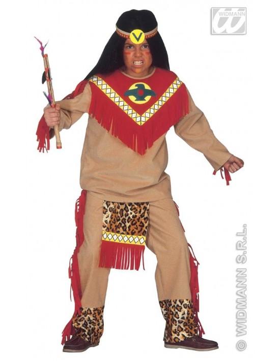 Disfraz indio toro furioso 11-13 años Widmann Niño