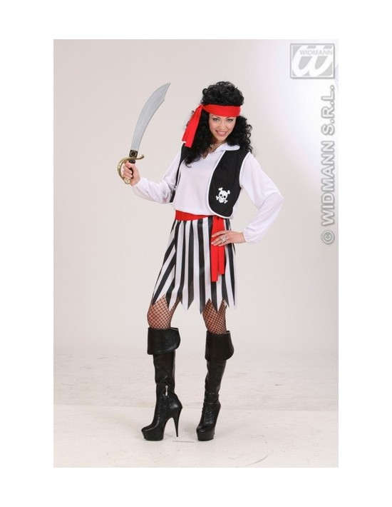 Disfraz de pirata para chica talla m Widmann Para Mujer