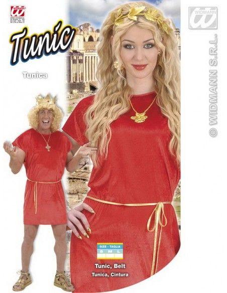 Disfraz de túnica roja arde lucus talla m Widmann Para Hombre