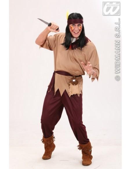 Disfraz de indio guerrero talla l Widmann Para Hombre