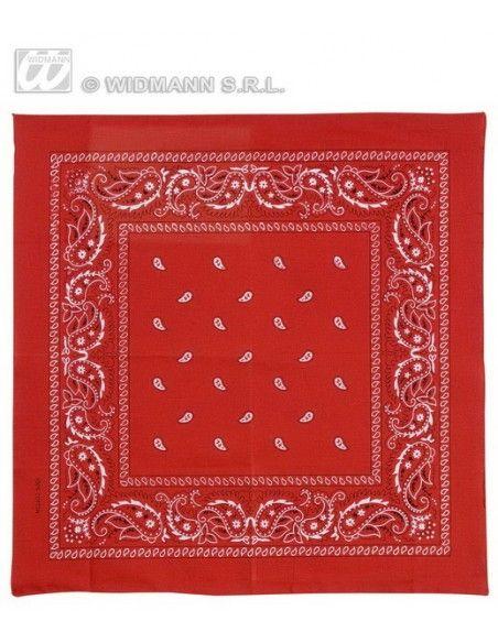 Pañuelo vaquero para el cuello rojo Widmann Pañuelos