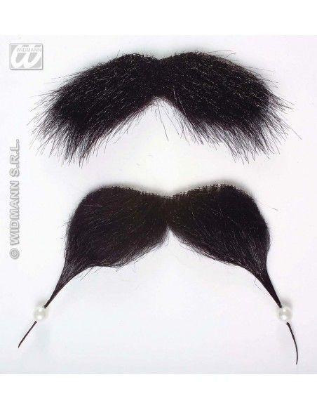 Bigote y barba pirata Widmann Barbas y bigotes