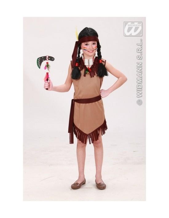 Disfraz de india talla 11-13 años Widmann Niña