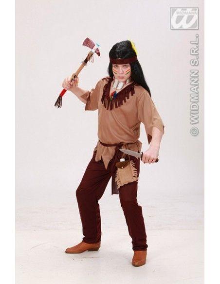 Disfraz de indio talla 8-10 años Widmann Niño