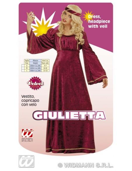 Disfraz de julieta talla 8-10 años Widmann Niña