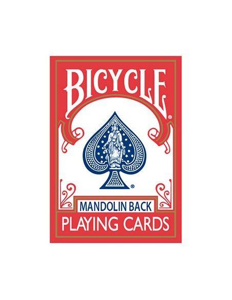 Baraja bicycle mandolin 809 dorso rojo US Playing Card Co. Póquer
