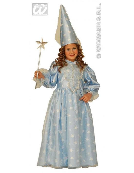 Disfraz de hada madrina azul talla 3-4 años Widmann Niña