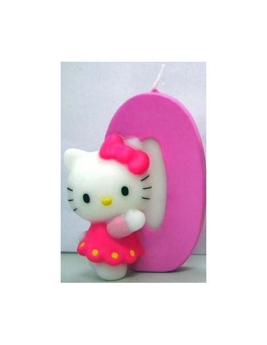Vela hello kitty nº 0 Sempertex Velas