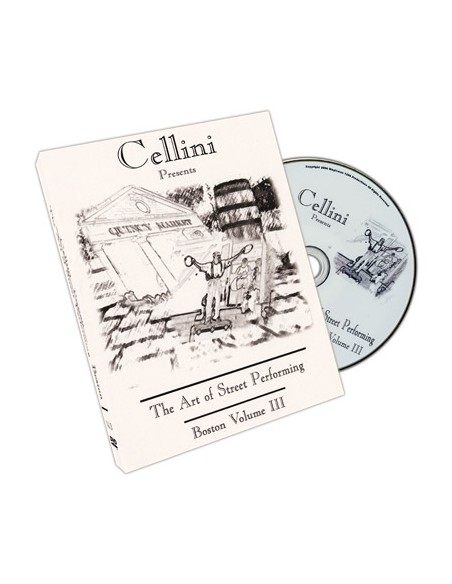 Cellini: el arte de actuar en la calle vol. 3 vídeo download (descarga) Genérico Descargables