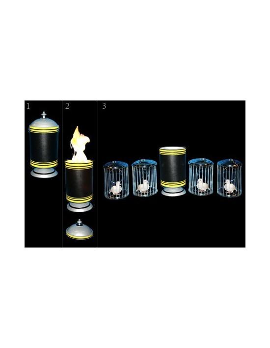 Tubo de fuego con producción de jaulas Tora Magic Medianas
