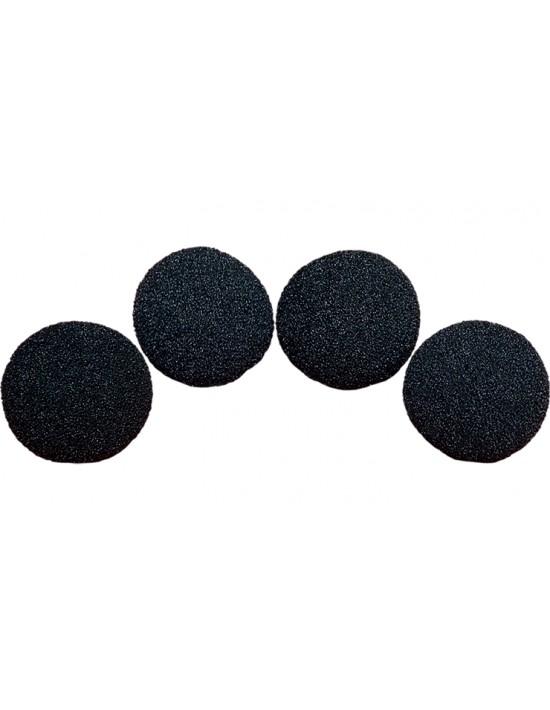 """Bolas de esponja 7,6 cm (3 """") negras Goshman Gomaespuma"""