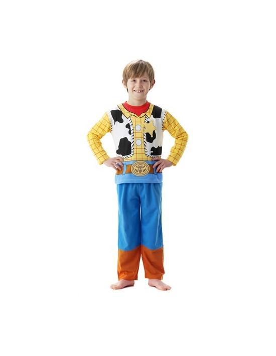 Pijama disfraz woody toy story talla 3-4 años Playama Pijama Disfraz