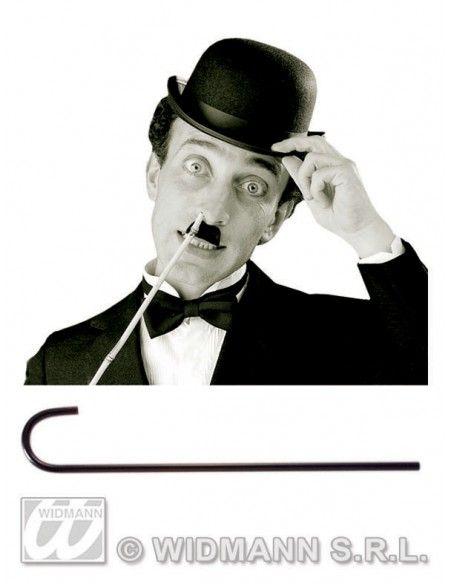 Bastón negro Widmann Escobas, varitas, bastones y paraguas