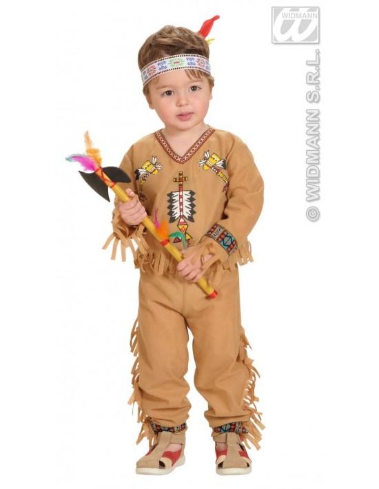 Disfraz de indio niño (98cm), 1-2 años Widmann Niño