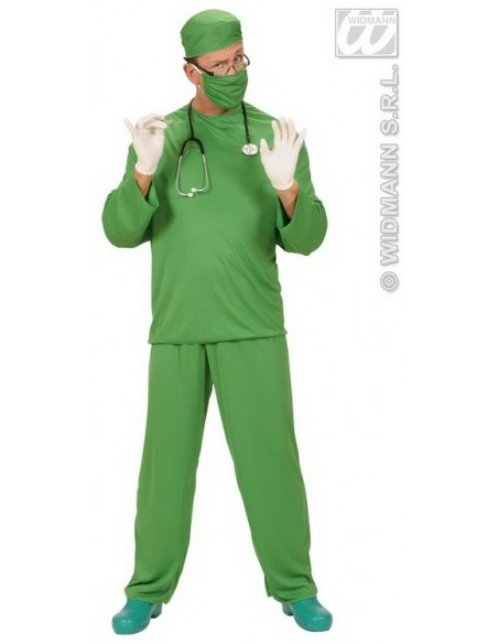 Disfraz de cirujano adulto talla l Widmann Para Hombre