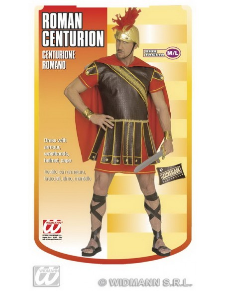 Disfraz de centurión talla l Widmann Para Hombre