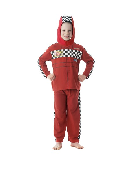 Pijama disfraz cars talla 7-8 años Playama Pijama Disfraz