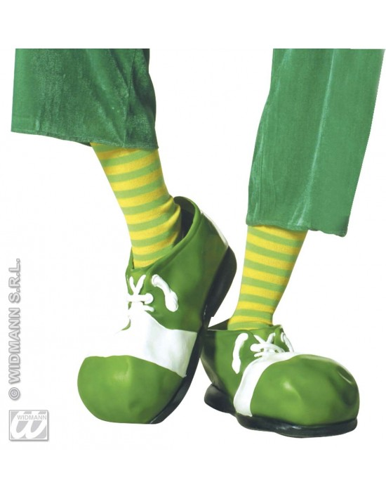 Medias de neón verde-amarillo Widmann Medias y Pantys