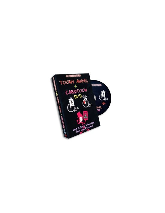 Toony angel y cardtoon (dvd) Asdetrebol Magia Inglés