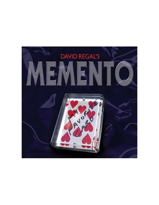 Memento por david regal dvd David Regal Juegos