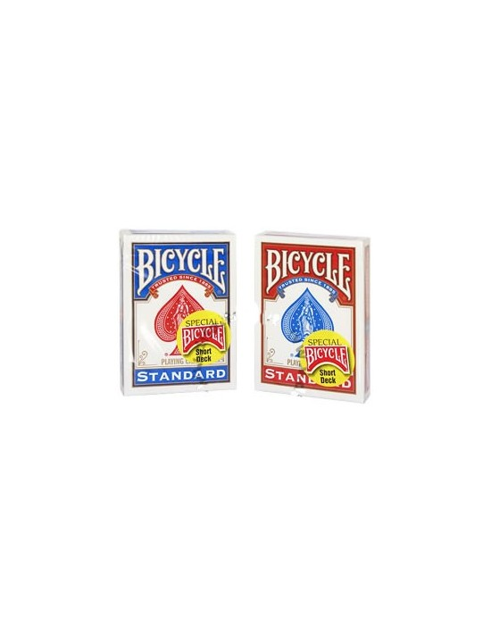 Baraja bicycle cortas roja 1,6 mm menos  US Playing Card Co. Otras Barajas Especiales