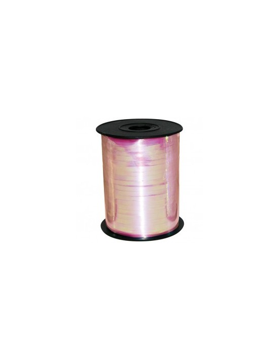 Rollo de cinta para globos rosa iridiscente 90m Sempertex Cintas