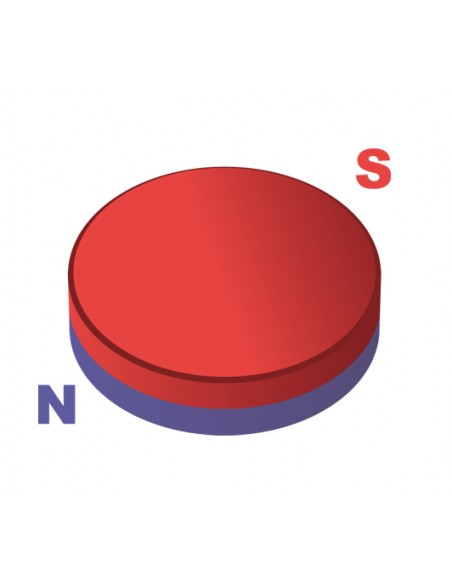 Neodimio disco 10-4a Genérico Neodimio Disco