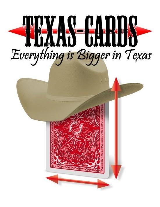 Cartas texas phoenix, azules anchas Card Shark Barajas Gaff