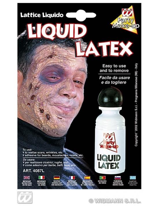 Látex líquido 28 ml Widmann Látex y carne artificial